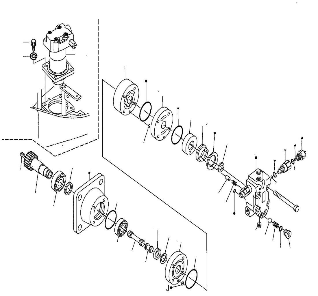 гидравлическая схема кубота кх 121 3